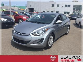Used 2016 Hyundai Elantra GL AUTOMATIQUE ***42 000 KM*** for sale in Beauport, QC