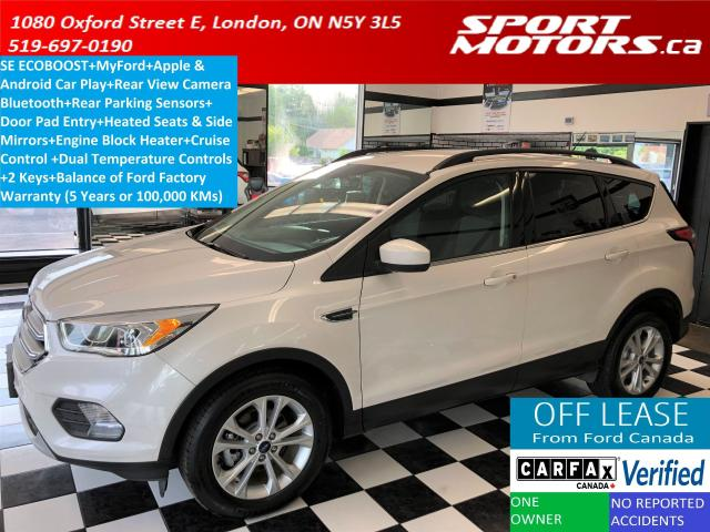 2017 Ford Escape SE+Apple & Android Play+Camera+Bluetooth+Sensors