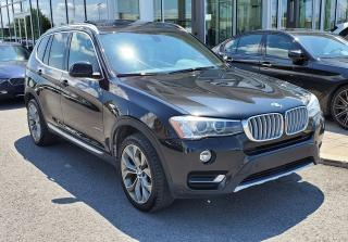 Used 2015 BMW X3 xDrive28d WOW DIESEL! NAVIGATION! for sale in Dorval, QC