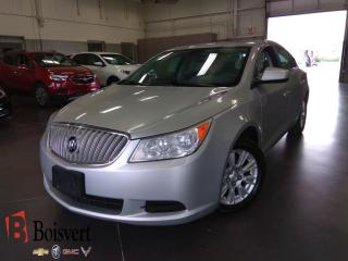Used 2011 Buick LaCrosse CX V6 for sale in Blainville, QC