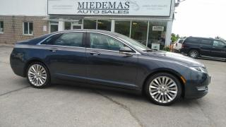 Used 2013 Lincoln MKZ AWD for sale in Mono, ON