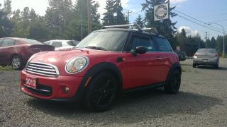 Used 2012 MINI Cooper Classic for sale in Black Creek, BC