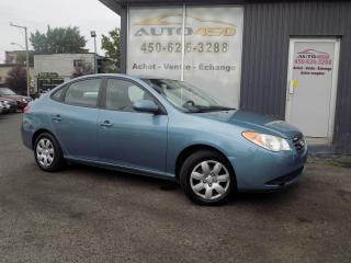 Used 2009 Hyundai Elantra ***L,AUTOMATIQUE,ECONOMIQUE,BAS KILO*** for sale in Longueuil, QC