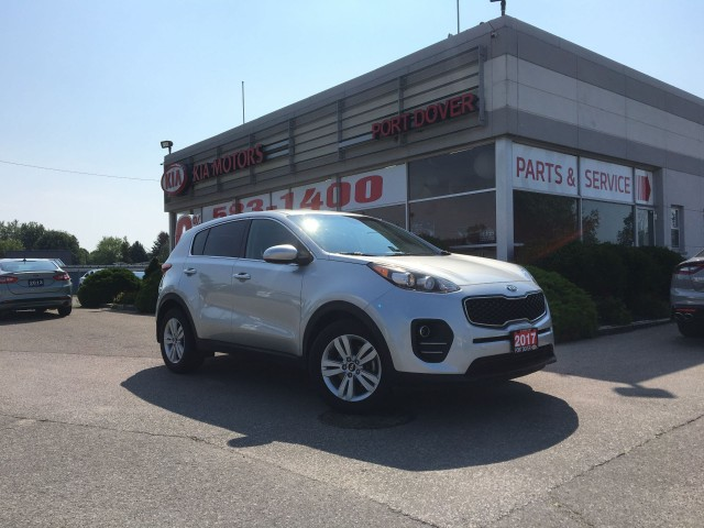 2017 Kia Sportage LX FWD | 1 Owner | Heated Seats
