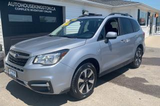 Used 2017 Subaru Forester Touring with Moonroof for sale in Kingston, ON