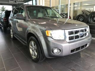 Used 2009 Ford Escape XLT, ACCIDENT FREE, POWER HEATED LEATHER SEATS, SUNROOF, SIRIUS XM CAPABILITY for sale in Edmonton, AB