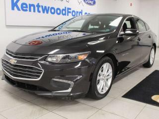 Used 2018 Chevrolet Malibu LT FWD with power drivers seat, back up cam, push start/stop for sale in Edmonton, AB