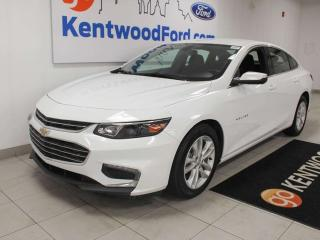 Used 2018 Chevrolet Malibu LT FWD with power drivers seat, push start/stop, 2 usb ports right in front and a back up cam for sale in Edmonton, AB