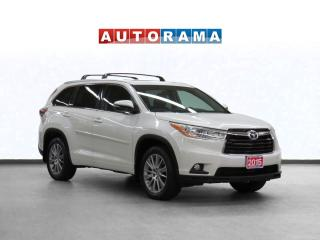 Used 2015 Toyota Highlander XLE 4WD Navigation Leather Sunroof B-Cam 8-Seater for sale in Toronto, ON
