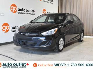 Used 2015 Hyundai Accent GLS, 1.6l i4, 6 Speed manual, Cloth seats for sale in Edmonton, AB