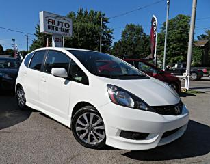 Used 2014 Honda Fit SPORT HAYON A/C AUTOMATIQUE BLUETOOTH MA for sale in Repentigny, QC