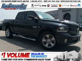 Used 2016 RAM 1500 SPORT | CREW | NAV | HOOD | CAM & MORE!!! for sale in Milton, ON