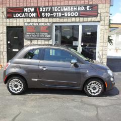 Used 2014 Fiat 500 Lounge - $44.64/week OAC for sale in Windsor, ON
