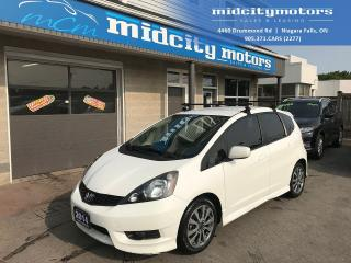 Used 2014 Honda Fit Sport/Great on Gas/One Owner/Low KM for sale in Niagara Falls, ON