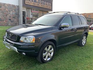 Used 2013 Volvo XC90 AWD. 7 PASSENGER.TV-DVD.BLIS.REAR AC.BLUETOOTH.ALLOYS. for sale in North York, ON