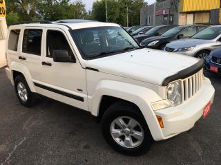 Used 2009 Jeep Liberty Sport/ AUTO/ 4X4/ SUNROOF/ POWER GROUP/ LOADED! for sale in Scarborough, ON