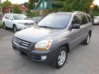 Used 2008 Kia Sportage LX-Convenience for sale in Brampton, ON