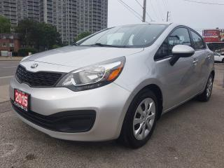 Used 2015 Kia Rio EX-1 OWNER- ONLY 85K-BLUETOOTH- ECO -AUX-USB for sale in Scarborough, ON