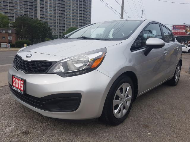 2015 Kia Rio EX-MINT -1 OWNER- 85K ONLY-Bluetooth- ECO -AUX-USB