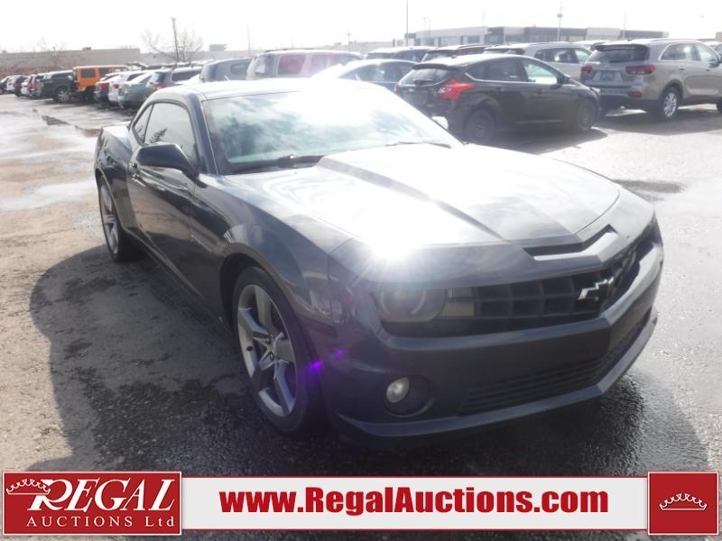 Used 2010 Chevrolet Camaro Ss 2d Coupe Rwd 6 2l For Sale In
