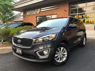 Used 2018 Kia Sorento LX AWD Rear Cam Heated Seats Alloys Certified* for sale in Concord, ON