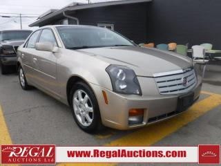 Used 2006 Cadillac CTS Base 4D Sedan for sale in Calgary, AB