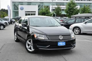 Used 2015 Volkswagen Passat Comfortline 1.8T 6sp at w/ Tip for sale in Burnaby, BC