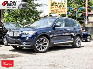 Used 2016 BMW X3 Diesel*Navi*Camera*Panoramic*Xenon*Loaded* for sale in Toronto, ON