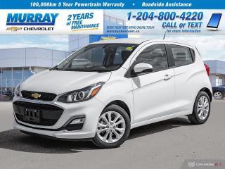 New 2019 Chevrolet Spark 1LT CVT for sale in Winnipeg, MB