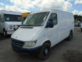 Used 2004 Dodge Sprinter 2500 Base for sale in Mississauga, ON