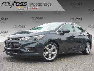 Used 2017 Chevrolet Cruze Premier, SUNROOF, BOSE, NAV for sale in Woodbridge, ON