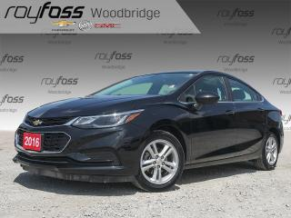 Used 2016 Chevrolet Cruze LT HEATED SEATS for sale in Woodbridge, ON
