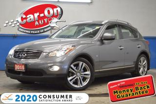 Used 2015 Infiniti QX50 AWD?LEATHER SUNROOF REAR CAM HTD SEATS LOADED for sale in Ottawa, ON