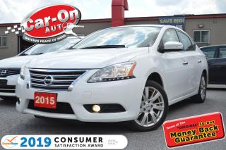 Used 2015 Nissan Sentra 1.8 SL LEATHER NAV SUNROOF REAR CAM LOADED for sale in Ottawa, ON