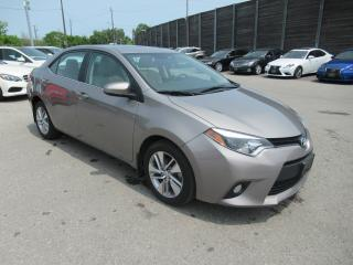 Used 2014 Toyota Corolla 2014 Toyota Corolla - 4dr Sdn CVT LE ECO for sale in Toronto, ON
