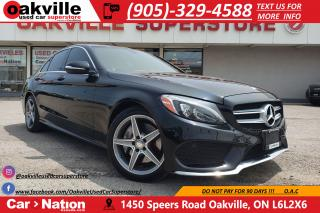 Used 2015 Mercedes-Benz C-Class C300 4MATIC | NAVI | PANO ROOF | B/U CAM for sale in Oakville, ON