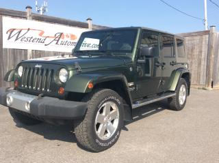 Used 2008 Jeep Wrangler Sahara for sale in Stittsville, ON