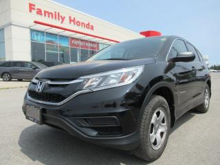 Used 2016 Honda CR-V LX, EXTENDED WARRANTY UNTIL 2021!!! for sale in Brampton, ON