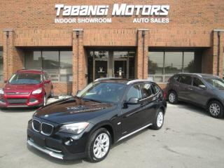 Used 2012 BMW X1 xDRIVE AWD 28i - LEATHER - SUNROOF - HEATED SEATS - BT for sale in Mississauga, ON