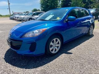Used 2012 Mazda MAZDA3 4dr HB Sport GX, auto, a/c, no accidents for sale in Halton Hills, ON