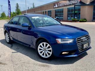 Used 2013 Audi A4 4dr Sdn Auto Quattro for sale in Barrie, ON