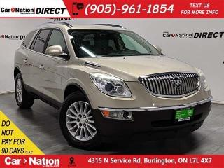 Used 2010 Buick Enclave CX| AS-TRADED| BLUETOOTH| ALLOYS| for sale in Burlington, ON