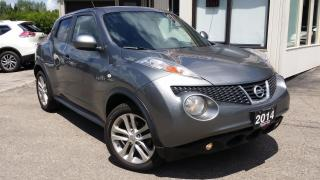 Used 2014 Nissan Juke SL AWD 2014 Nissan Juke SL AWD - LEATHER! NAV! BACK-UP CAM! for sale in Kitchener, ON
