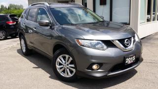 Used 2015 Nissan Rogue SV AWD 2015 Nissan Rogue SV AWD - BACK-UP CAMERA! PANORAMIC SUNROOF! for sale in Kitchener, ON