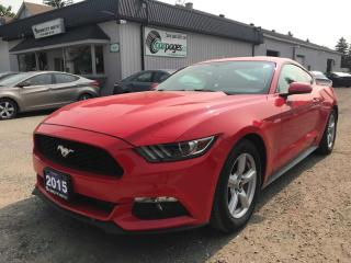 Used 2015 Ford Mustang V6 Coupe 2015 Ford Mustang V6 Coupe for sale in Bloomingdale, ON