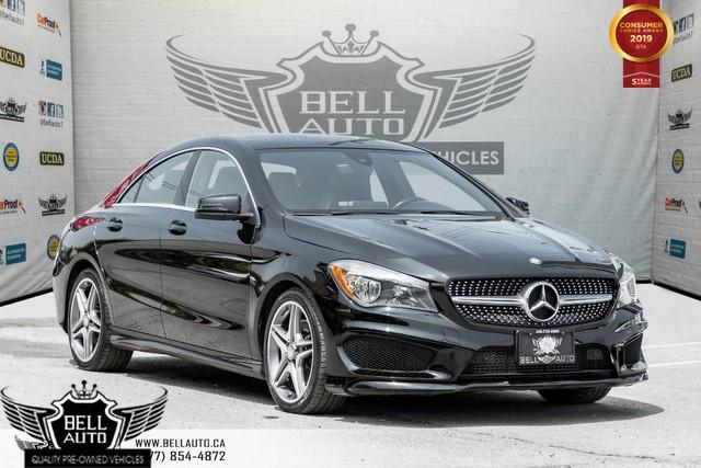 2015 Mercedes-Benz CLA-Class CLA 250, 4MATIC, NAVI, BACK-UP CAM, PANO ROOF, BLIND SPOT, SENSORS