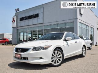 Used 2008 Honda Accord EX-L V6 COUPE | NAV | MANUAL | LEATHER | SUNROOF for sale in Mississauga, ON