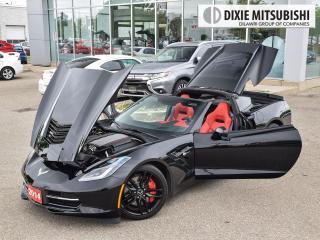 Used 2014 Chevrolet Corvette 3LT Z51 | TARGA TOP | MANUAL | HEADS UP for sale in Mississauga, ON