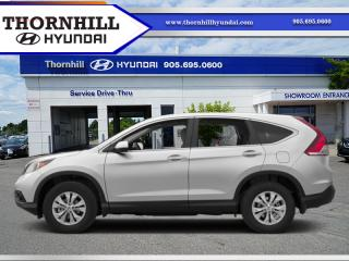 Used 2013 Honda CR-V EX  - Sunroof -  Heated Seats for sale in Thornhill, ON