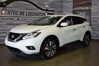Used 2015 Nissan Murano PLATINUM NAVIGATION for sale in Laval, QC
